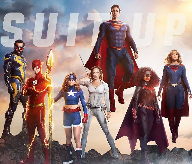 The Arrowverse assembles for new poster from The CW