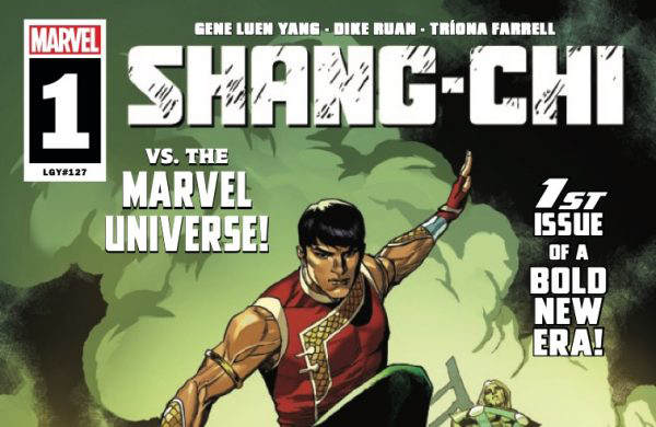 Comic Book Preview - Marvel's Shang-Chi #1